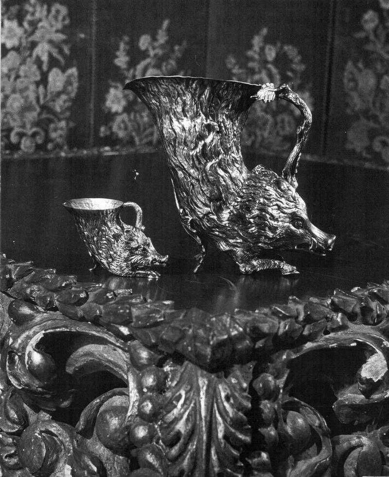 Brocca e Bicchiere Cinghiale, 1970  'Les Cadeaux' Christian Dior