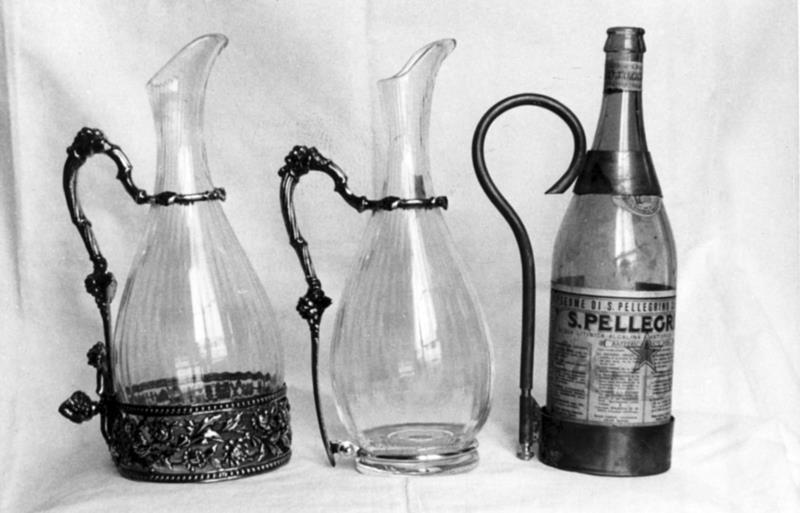 Caraffe e Portabottiglia 1963-1965