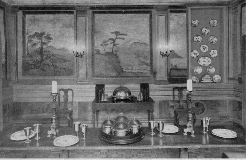 """""""Decorazioni pittoriche e oggetti artistici a Palazzo Cenci"""" Derby, Novembre 1965"""