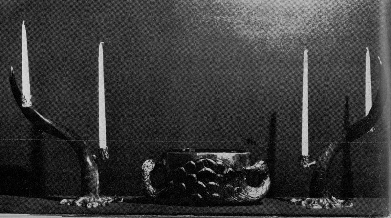 """From the 'Cesello' collection, Madrid 1970 """"Angel Gil cuenta…"""" Galeria La Moda en Espaňa, Noviembre 1970"""