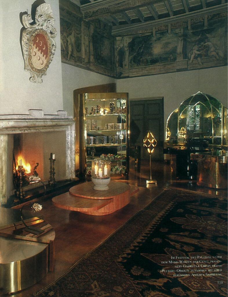 """""""Kosmische Harmonie im Palast der sechs Monde"""" Ambiente, March 1986"""