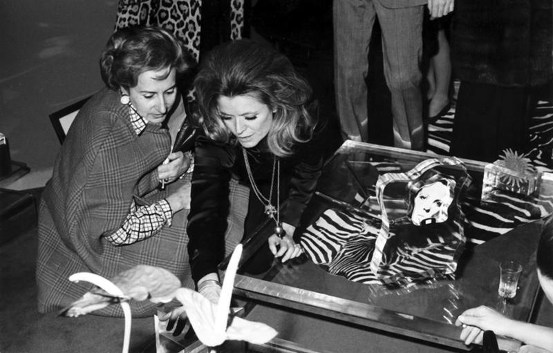 Milan 1968 with Camilla Cederna