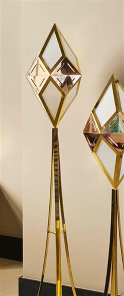 New Bronze Age 2016  Caleidoscopio Brass, bronze, plexiglas