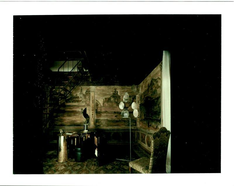 Palazzo Cenci, early 1980s  Polaroid by Robert Emmett Bright