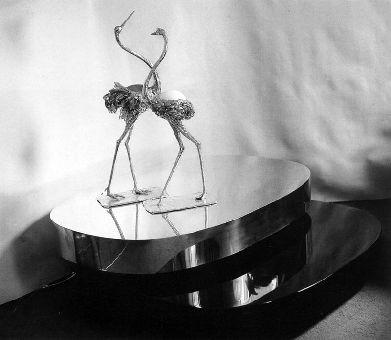 """Tavolo Scultura, 1976  """"Les Décorateurs des années 60-70"""" Norma Editions, 2007"""