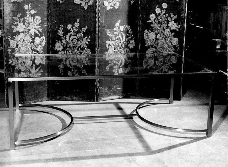 Tavolo cromato, 1966